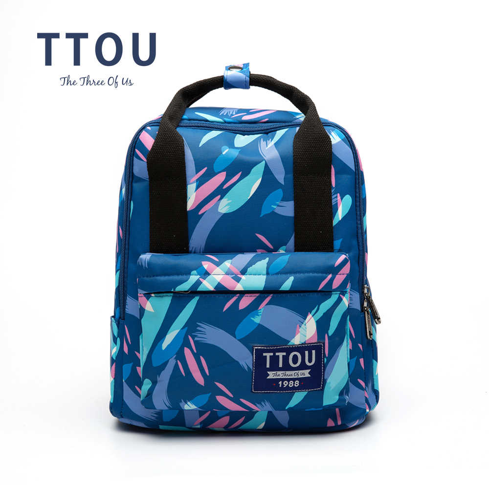 TTOU Canvas Backpack For Women Print Backpack School Backpacks For The Girl Travel Bag Bolsa Feminina