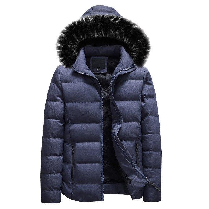 BOLUBAO Fashion Brand Male Wadded Jacket   Parka   2018 Winter Thicken Warm Coat Jacket Slim Fit Hooded Men Jacket   Parka