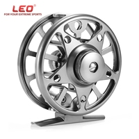 New AL 75 2 1 Ball Bearing 1 1 Fly Fishing Reel Wheel With Left Right