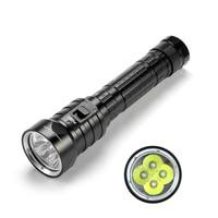 SolarStorm DX4S LED Diving Flashlight IPX8 Waterproof 4 x XM L L2 LED Torch Submarine Lamp 3 Modes 8000 Lumens Flashlights