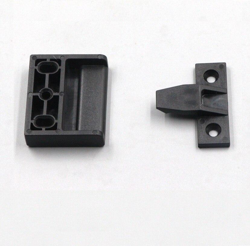 Onvermoeibaar 20 Sets/partij Nieuwe Ontwerp Push Klik Op Montage Keuken Meubelen Installatie Kast Nep Lade Crown Molding Filler Clip