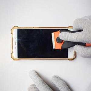 Image 5 - 1 adet jilet kazıyıcı 10 adet yedek Metal bıçaklar tutkal yapışkan Film boya seramik fırın soba araba ev zemin temizleme k05 sıcak