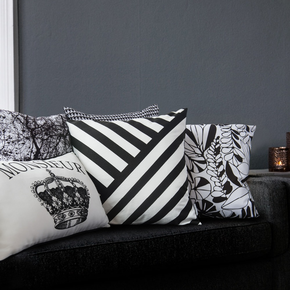 Aliexpress Com Buy Morden New Design Leaves Printed Sofa Pillows Home Decoration Channel Pillow Leave Pattern Printed Chair Decor Cushion Cover From
