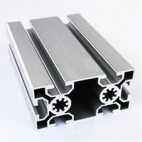 50100 EA Aluminum Profile Extrusion 50 Series Aluminum Tube Length 1 Meter