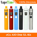 Original joyetech ego aio d22 xl kit vaporizador 4 ml tanque y 2300 mAh Batería Incorporada Aio XL Todo-en-un Kit de Ego Vs Ego Aio