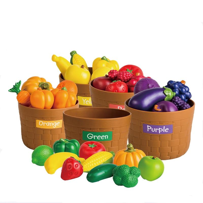 Домашняя игрушка, детский сад, растительный фрукт, модель, моделирование, детское питание, познавательное, раннее образование, головоломка, пластиковые игрушки - 2