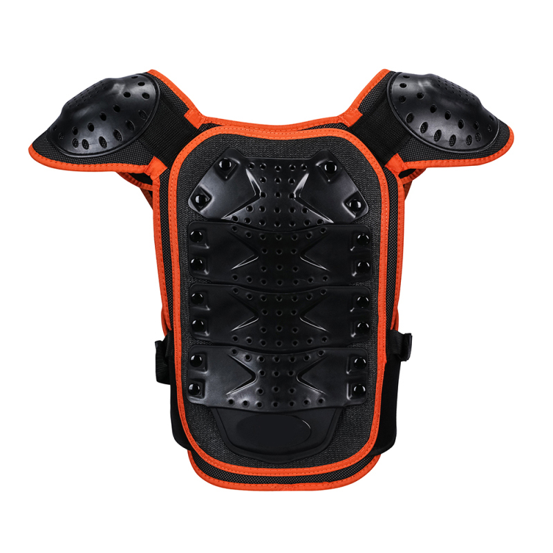 Children's Armor Jacket Armored Girder Chest Protection Equipment Motocross Enfant Motorcycle Gear Motos Kids Vest Body