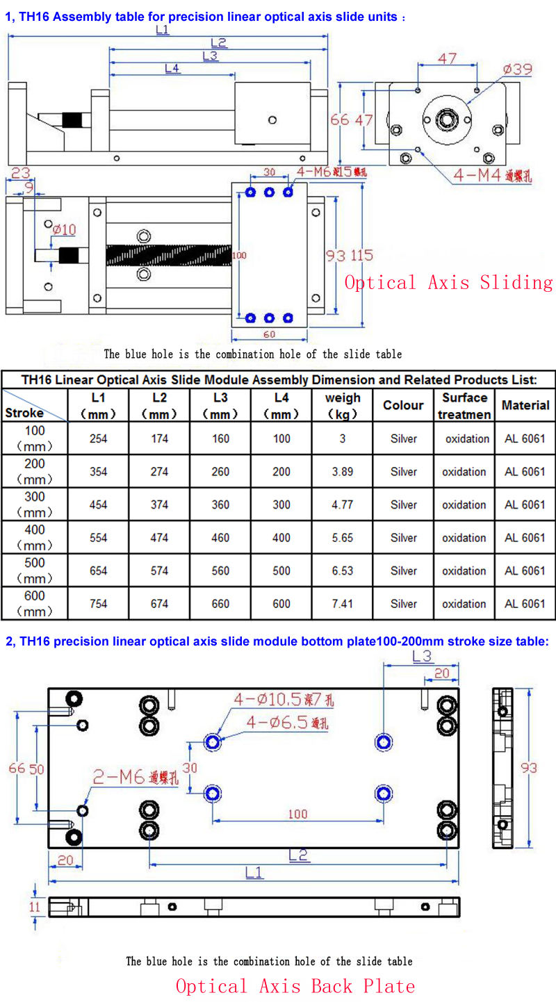 2018 Cnc Manual Sliding Table Cross Slide X Y Z Axis Linear Stage Actuator Wiring Diagram Dimension Details