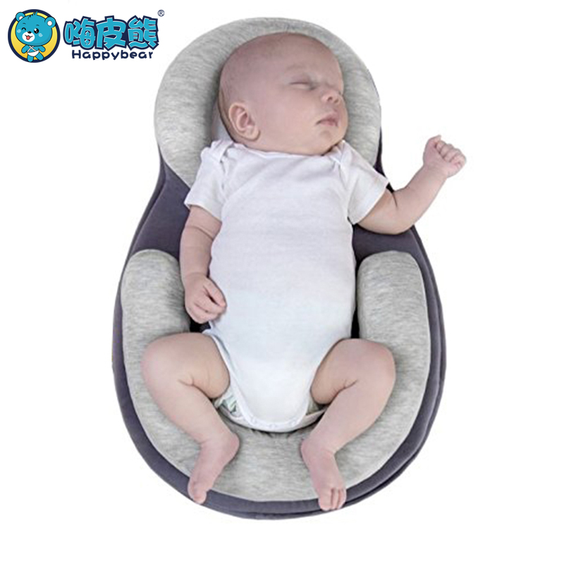 Portable Baby Crib Nursery Folding Baby Bed Infant Toddler Cradle Multifunction Storage Bag Newborn Anti-rollover Safety Bed