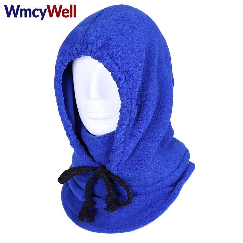 WmcyWell Winter Cycling Balaclava Heavyweight Fleece Cold Weather Face and Neck Mask Windproof Balaclava Bandana Sport Neck Hat