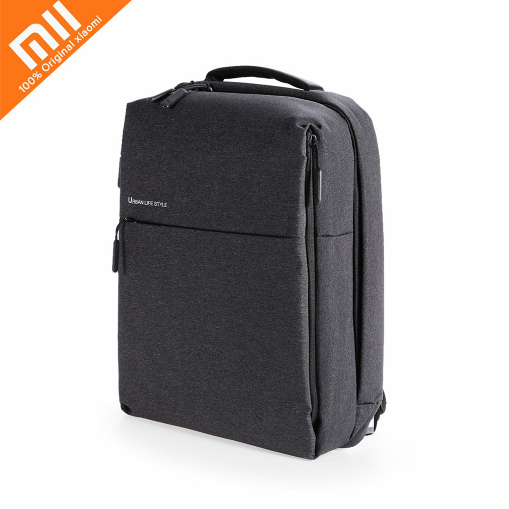 Original Xiaomi 14 Inch 20L Urban Style Polyester Backpack Leisure Sports Bag Waterproof Traveling Sports Hiking Casual Style