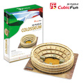 "Kingtoy paper craft 3 d puzzle toy  the Colosseum of Rome, (Italy) - DE luxe edition"" Child Diy Toy"