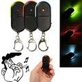 Новые горячие беспроводной анти-потеря сигнализации ключ искатель локатор свисток Звук светодиодный светильник брелок - фото