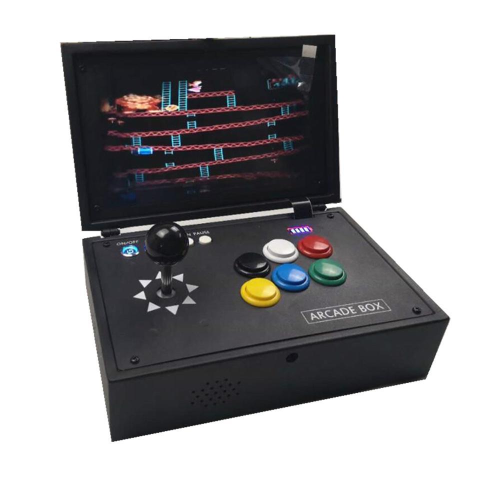 Raspberry Pi 3B  Video Game Console 10 Inch LCD screen with 10K Games Installed Recalbox Mini Arcade Machine