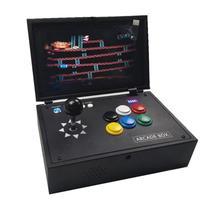 Raspberry Pi 3B игровая консоль для видеоигр 10-дюймовый ЖК-экран с 10 K играми, установленными Recalbox мини-аркадная машина