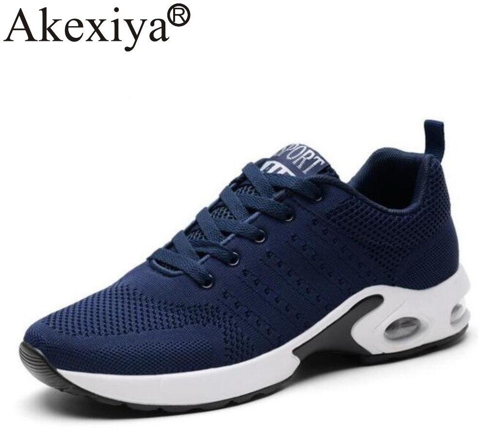 Akexiya Mens Sports Shoes Run Gym Trail Running Sho