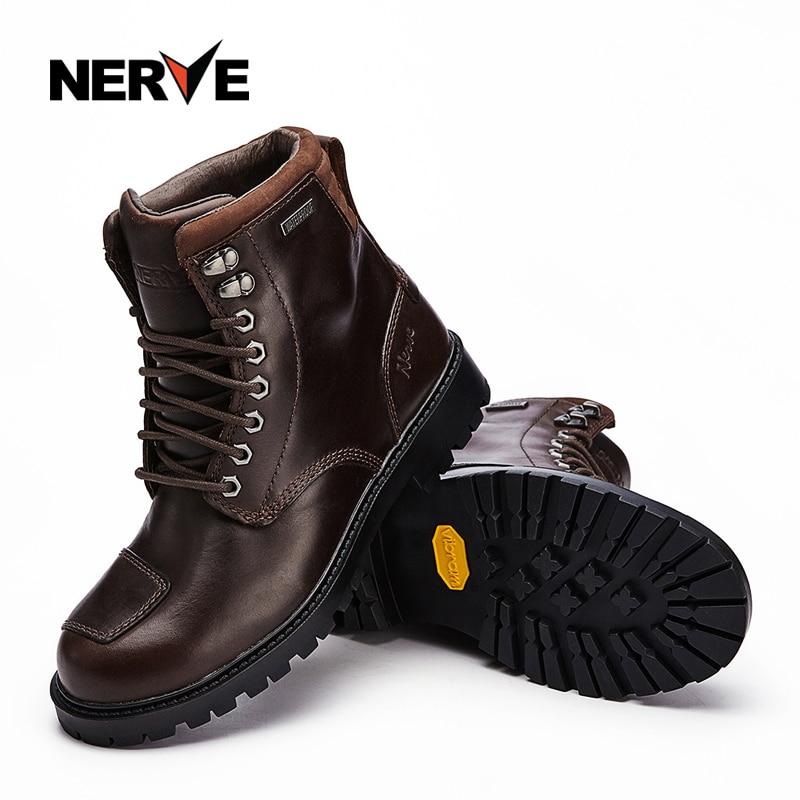 Sprzęt rycerza nerwów motocykl jazdy skórzane buty Boot lokomotywa off-road buty wyścigowe buty oddychające