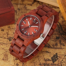 Full Wood Watch Women Mini Chic Dial Quartz Clock Minimalist Wooden Bracelet Wristwatch Creative Hours Gift Lady Watch for Woman new bling lady women s watch japan mov t retro hours fine fashion clock real leather bracelet girl s birthday gift julius box