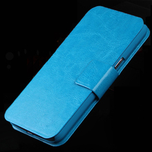 1Pc/Lot Luxury PU Leather Mobile Phone Case For ZTE Blade L3 Z9 Mini Buzz V815w Geek 2 S2003 Magnetic Back Bags Cover With Stand