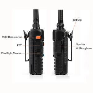 Image 3 - NEWEST Original Baofeng UV 5R HF transceiver UV 5R Bao Feng for UV5R Radio Portable UHF VHF Dual Band Dual Display WalkieTalkie