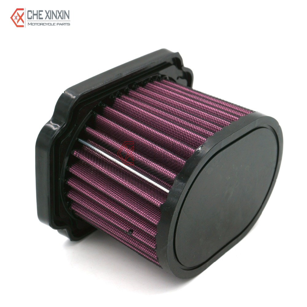 Motorcycle Air Cleaner Covers : Motorcycle flow air cleaner replacement filter element for