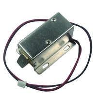 Lock Tongue Upward Luggage Solenoid Electric Lock Assembly 12V