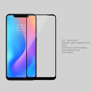 Image 3 - NILLKIN 3D Curved Round Edge Tempered Glass For Xiaomi Mi 8/Mi8 Full Coverage Screen Protector Glass Film For Xiaomi Mi 8 SE