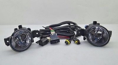 ФОТО NEW OEM  Versa Note Fog Light Lamp & wiring harness Switch Kit
