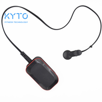 KYTO Bluetooth Heart Rate HRV Monitor With Ear Clip And Fingertip Infrared Sensor For Mobile Phone