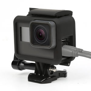 Image 5 - Bắn Khung Bảo Vệ Ốp Lưng Ốp Cho GoPro Hero 7 6 5 Màu Đen Bảo Vệ Camera Biên Giới Cho Đi Pro 6 5 camera Hành Động Phụ Kiện