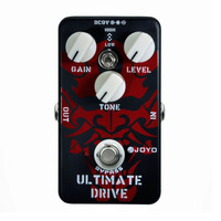 JOYO JF 02 Ultimate Drive Electric Guitar Effect Pedal With True Bypass Wiring Different Sounds High