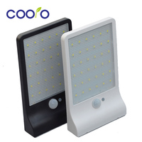 Two Pack LED Solar Light 450LM 36Led Solar Powered Led Outdoor Light Security Wireless Waterproof With