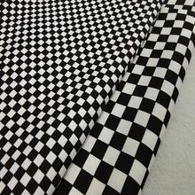 Качественная плотная черная, белая, большая, маленькая, квадратная, с принтом, холст, хлопковая ткань для скатерти, занавески, подушки, вечерние, для дома, Decora