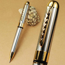 Jinhao 250 silver and golden twist BALLPOINT PEN Free Shipping