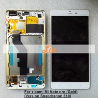 1PCS IFire 5 7 Lcd For Xiaomi Note Mi Note LTE LCD Display Touch Screen Digitizer