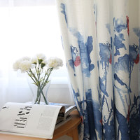 European Style Curtains for Bedroom Curtains for Living Room Blackout Curtains