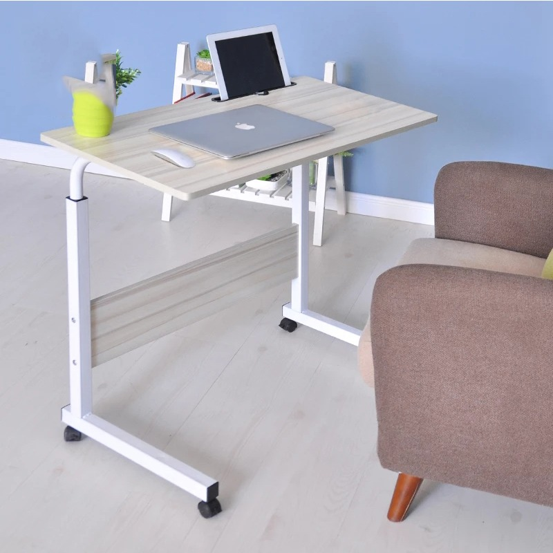 Office Furniture Imported From Abroad Lifting Mobile Computer Desk Bedside Sofa Bed Notebook Desktop Stand Table Learning Desk Folding Laptop Table Adjustable Table Furniture