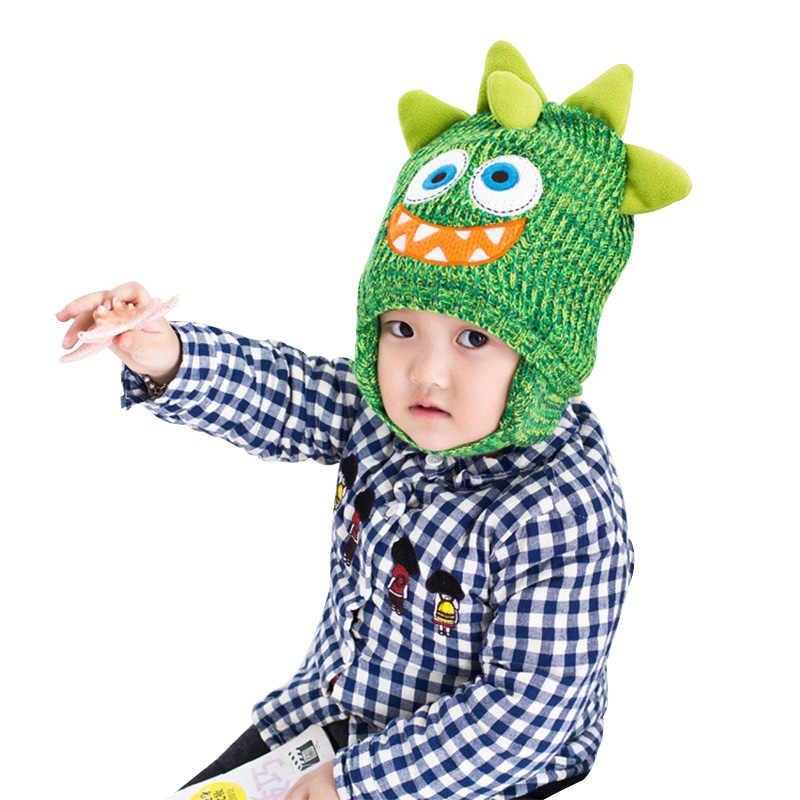 9fbf4277c Detail Feedback Questions about Cartoon Monster Toddler Kids Winter ...