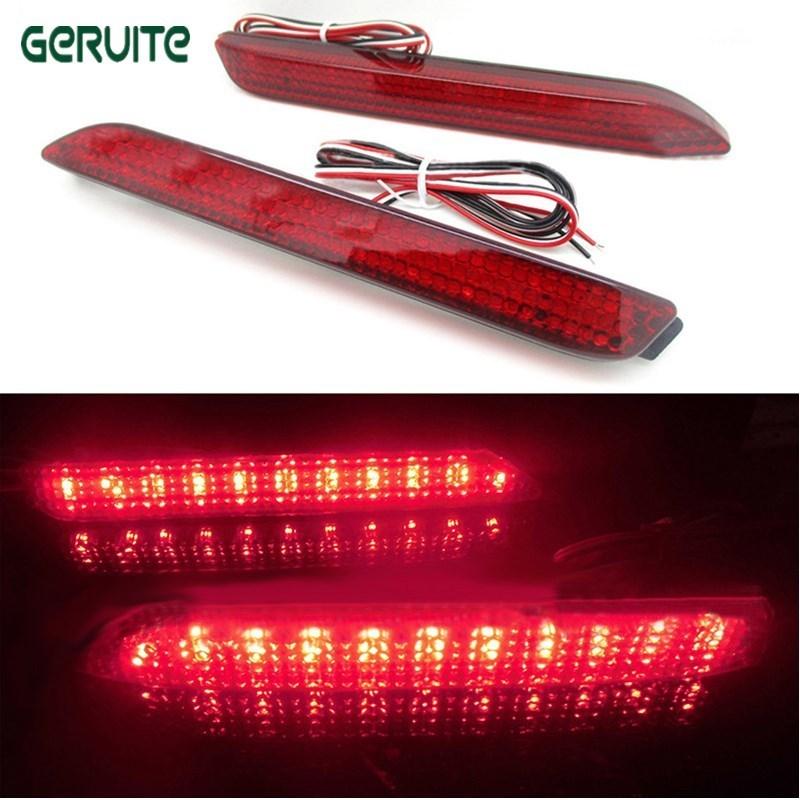 Car LED Brake Rear Bumper Reflector Lamp For Toyota Camry Tail Brake Light  Innova/Lexus ISF/GX470/RX300 Fog Stop Lights