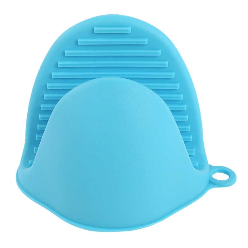 Изолированные нагреваемые горячие пластины клип 1 шт. перчатки для микроволновой печи утолщаются анти-ожогов кухня Органайзер силиконовые горшки зажимы