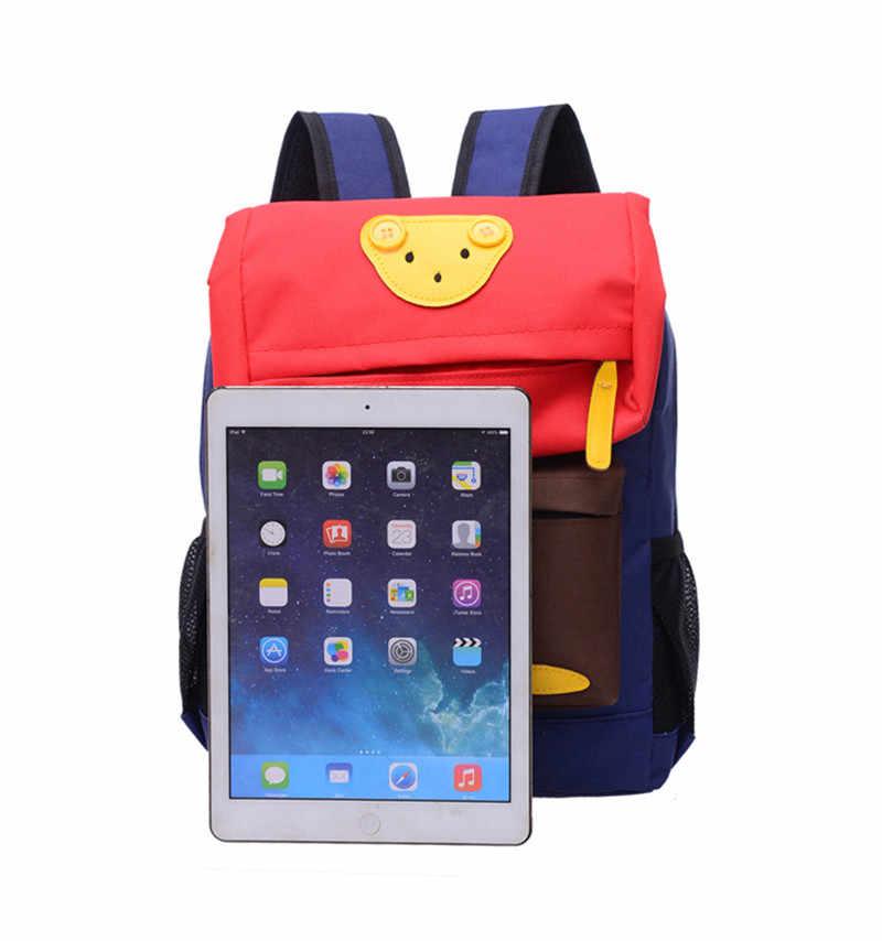 2019 Linda mochila de dibujos animados estudiantes mochilas escolares para niños niñas mochilas diarias niños bolsos escolares bebé mejor regalo