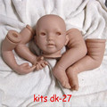 Reborn Doll Kits for 21inches Soft Vinyl Reborn Baby Dolls Accessories for DIY Realistic Toys for DIY Reborn Dolls Kits#dk-27