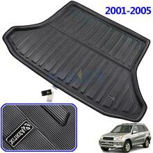 Apto para toyota rav4 tapete de bota, tapete de bagagem traseira 2001 2002 2003 2004 2005, forro, bandeja de chão protetor, acessórios
