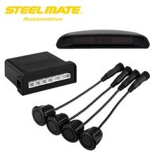 Steelmate Ebat C2 Sistema de Asistencia de Estacionamiento Del Coche LED Display Parking Sensor de Reversa Sistema de Alerta con 4 Sensores