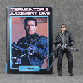 17cmJudgment Day NECA The Terminator 2 Action Figure T-800 Pescadero Hospital Doll Collection PVC Model Toy