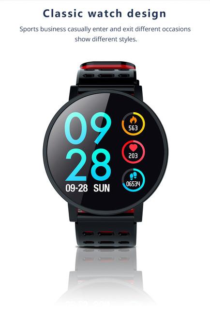 Classic Unisex Round Smart Wristband