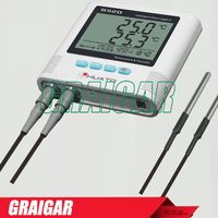S520 DT USB/ RS232/ RS485/ RJ45 port temperature data logger with external tempe