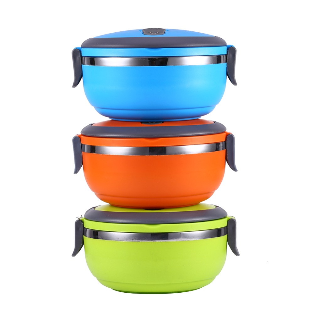 304 Stainless Steel Thermos Bento Lunch Box Kids Thermal Food Container Portable Japanese Insulated Lunchbox - MRDAI Store store