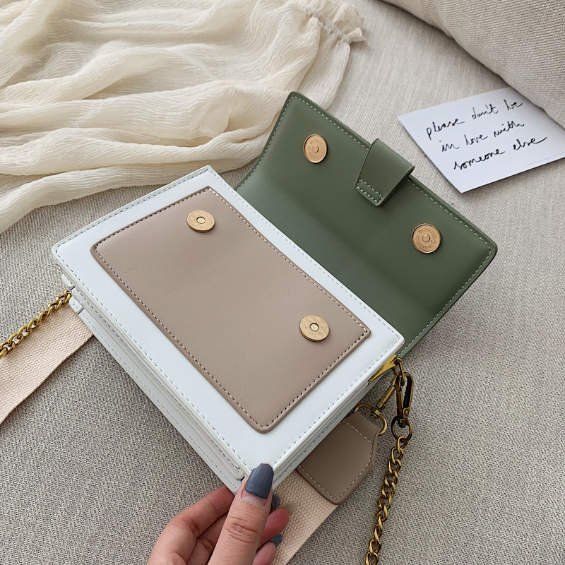 Mini Leather Crossbody Bags For Women 2019 Green Chain Shoulder Messenger Bag Lady Travel Purses and Handbags  Cross Body Bag 18
