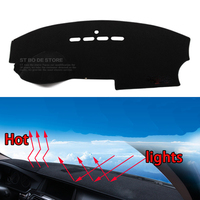 Car Dashboard Avoid Light Pad Instrument Platform Desk Cover Mats Carpets Auto Accessories Car Styling For